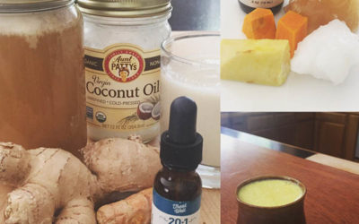 Recipe: Anti-Inflammatory Turmeric CBD Tonic