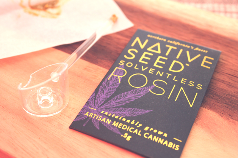 Cannabis Concentrates – Native Seed Rosin