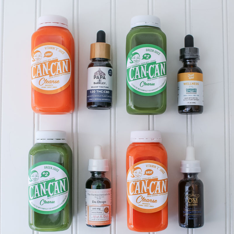 How to Pair Cannabis Tinctures with your Juice Cleanse