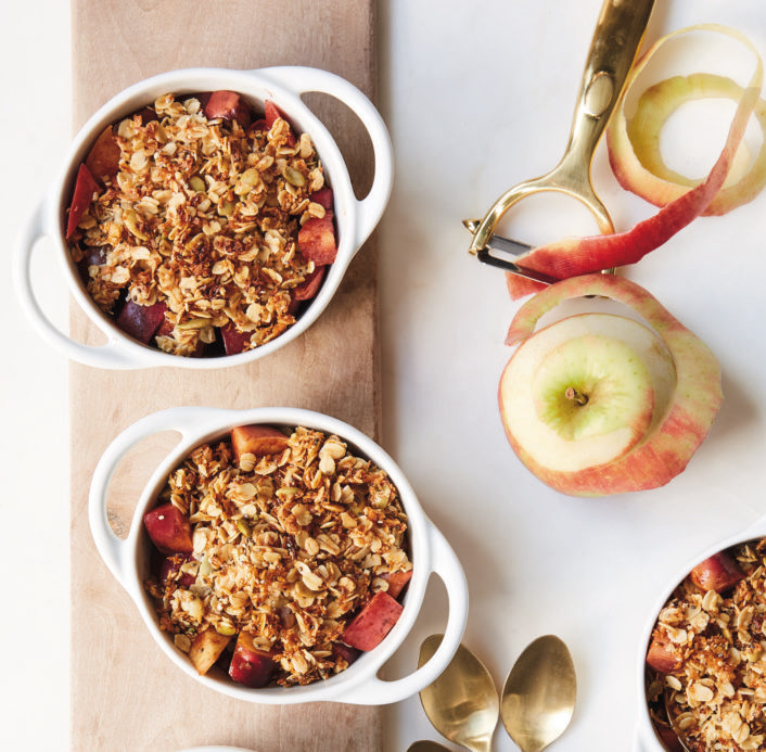 Cannabis Apple Power Crumble Recipe